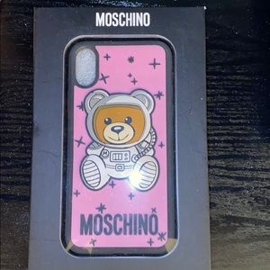 Moschino iPhoneX 📱 Astronaut Teddy Bear 🧸 Case